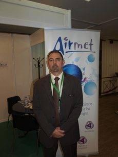El director general de Airmet-Cybas, Rafael Sobrino.