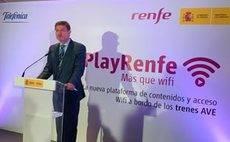 Renfe presenta su servicio Wi-Fi para trenes AVE