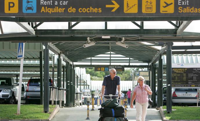 Malestar del 'rent a car' con el Gobierno de Baleares