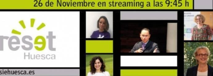 Reset Huesca 2020, híbrido en el Palacio de Congresos