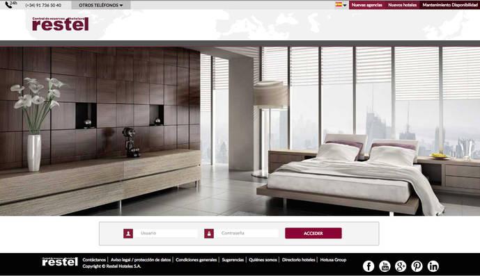 Restel lanza una nueva web exclusiva para agencias