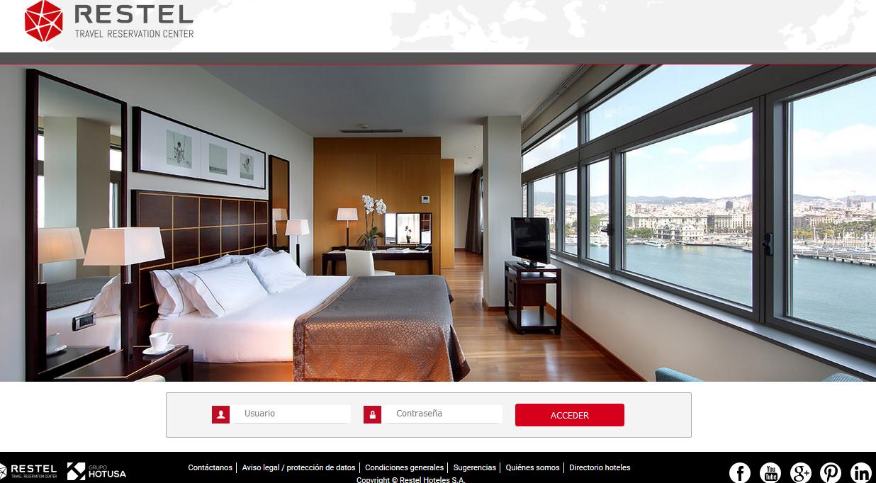 Restel se desmarca del concepto 'bed bank' con su web