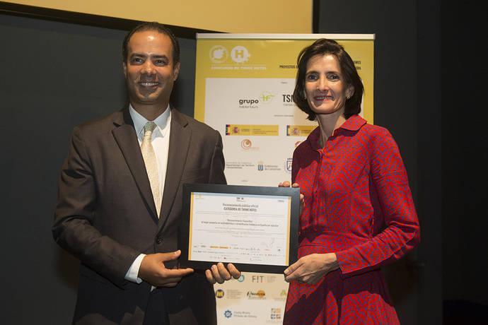 Fuerte Hoteles se lleva el premio Re Think Hotel en la categoría TSMEDIA