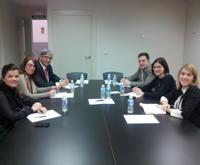 El trabajo en común, objetivo de los Palacios de Huesca