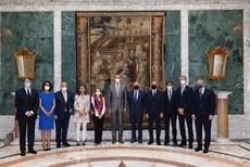 El Rey Felipe VI, en la Fira de Barcelona para inaugurar el Mobile