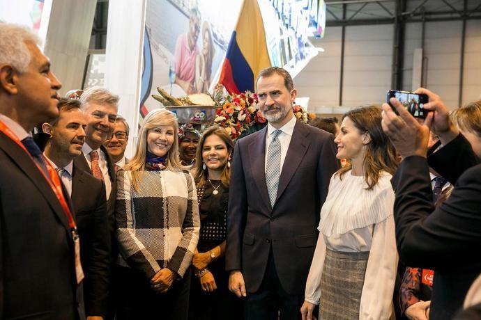 """Los Reyes apoyan los eventos: presiden la inauguración de Fitur 2021 """"Especial recuperación Turismo"""""""