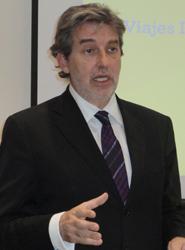 El director general de B the travel brand, Enric Riera.