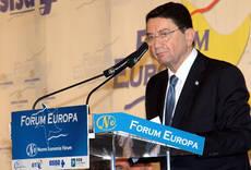 Rifai expuso el tema ayer, durante la primera jornada de Forum Europa 2017.