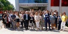 Los asistentes a la presentación del Plan Eno MICE. (Foto: DOCa Rioja)
