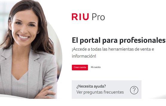 RIU Hotels actúa 'en pro' de las agencias con una nueva herramienta exclusiva