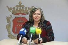 La concejala de Turismo de Ronda, Isabel Mª Barriga.