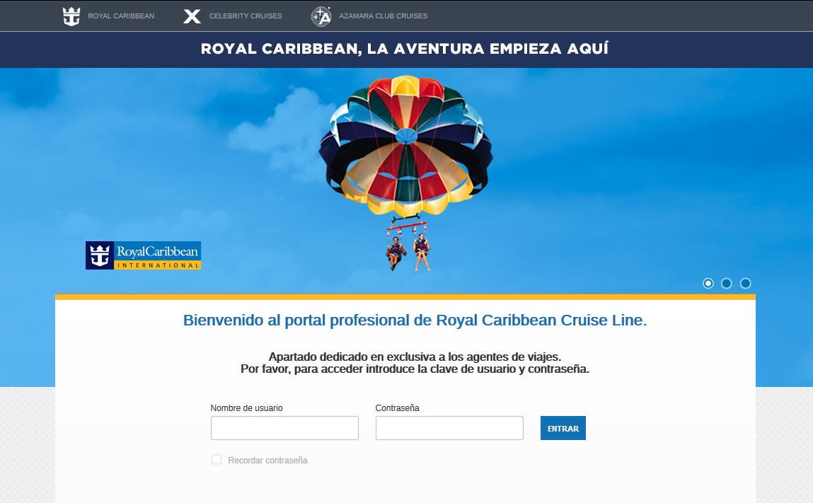 Excursiones en la web de agentes de Royal Caribbean