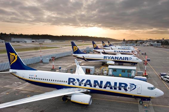 Uno de cada cinco pasajeros llega a España con Ryanair