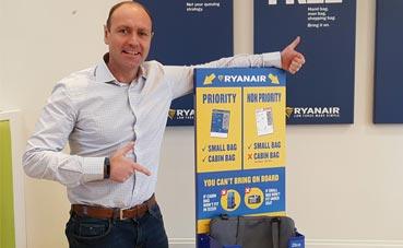 La nueva política de equipajes de Ryanair, ya activa