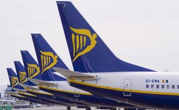 España, el país más afectado por la huelga en Ryanair