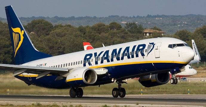 Ryanair actualiza su servicio de alojamiento