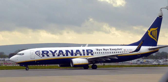 Ryanair gana 1.088 millones de euros en el primer semestre