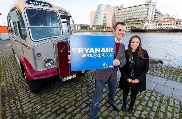 Ryanair completa el círculo con Ryanair Transfers