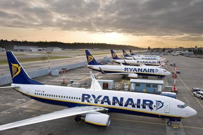 Ryanair gana 1.020 millones de euros, un 29% menos