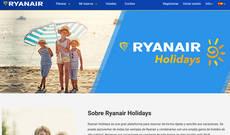 Ryanair se adentró en el negocio de los viajes combinados a finales de 2016.