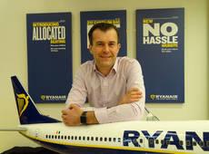El director de ingresos auxiliares de Ryanair, Greg O'Gorman.