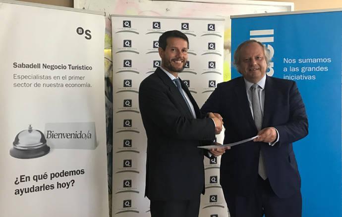 Banco Sabadell apoya a la 'Q' de Calidad Turística