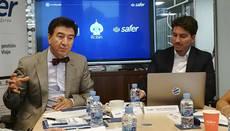 El CEO, Manuel López, y el director del área digital, Manuel L. Nieto-Sandoval.