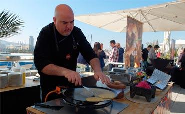 Sagardi presenta un catering basado en cocinas de raíz