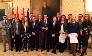 Salamanca distingue a 12 nuevos embajadores