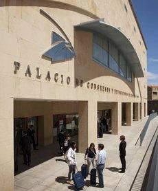 El Palacio de Congresos de Castilla y León, en Salamanca.