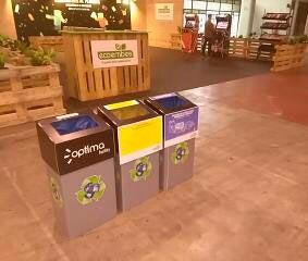Ephymera Sostenibilidad ayuda en el reciclaje de residuos de un evento