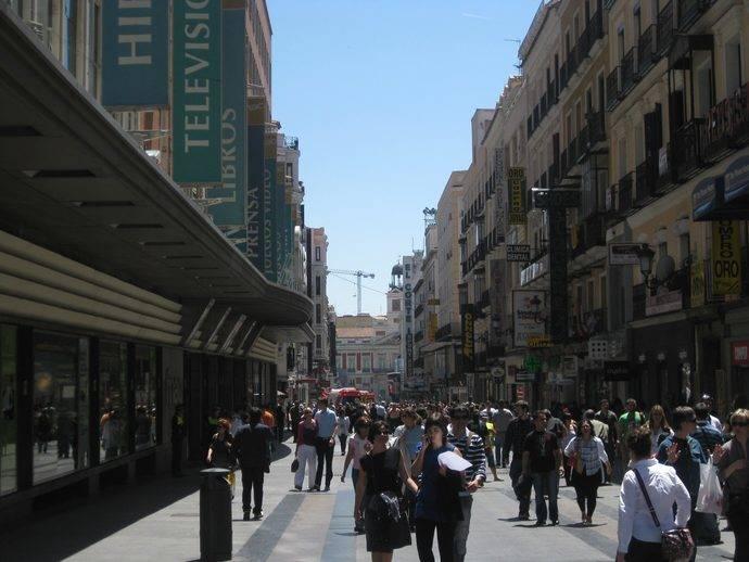 Madrid es el principal destino nacional en Navidad
