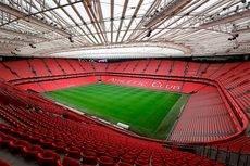El estadio de San Mamés, Bilbao.