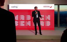 Iberia y Vueling se reúnen con las agencias de viajes