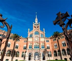 El Recinto Modernista de Sant Pau, en Barcelona, sede de una cumbre de salud digital