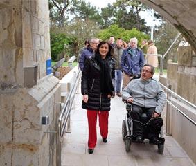 El Palacio de la Magdalena mejora la accesibilidad del edificio