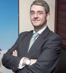El presidente de la AEPT, Santiago Aguilar.