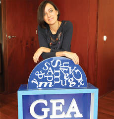 La directora de GEA; Sara Fernández.
