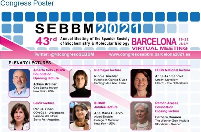 El 43 Congreso Anual de la SEBBM, también online
