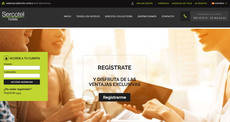 Las agencias tienen un espacio exclusivo en la página web de la cadena.