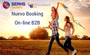 Serhs Tourism lanza su nuevo Booking Online B2B
