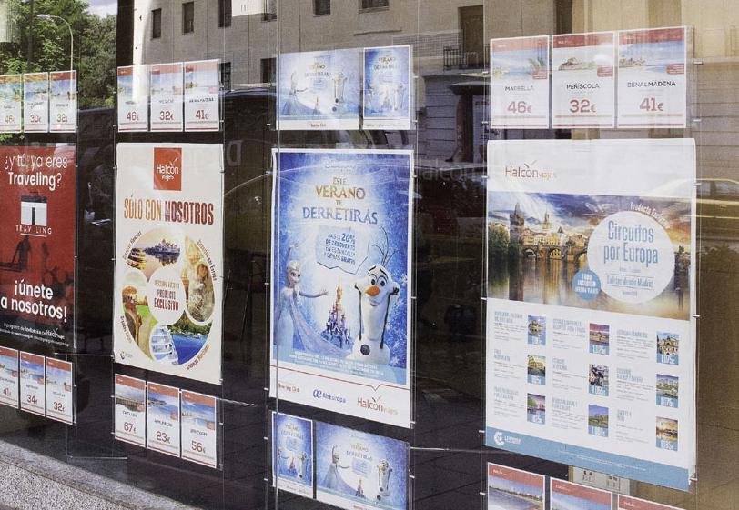 Crecimiento sostenido de ventas en las agencias