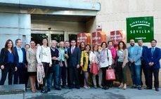 Sevilla recibe a un grupo de agencias de reuniones