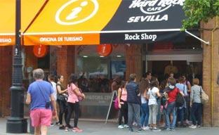 El Hard Rock Café Sevilla, miembro del Convention Bureau