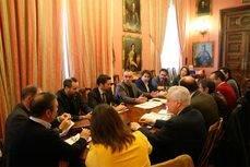 La reunión del grupo de trabajo Conectando Sevilla con el Mundo.