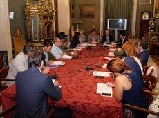 La asamblea ordinaria del Consorcio de Turismo de Sevilla.