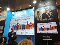 El director del SCCB, Manuel Macías, en la presentación del congreso.