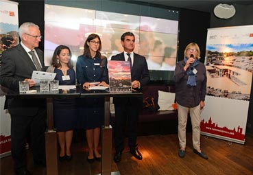 Sevilla cierra en Múnich dos meses de intensa actividad promocional