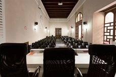 Uno de los espacios para eventos del Palacio de los Marqueses de la Algaba, en Sevilla.