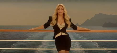 Shakira vuelve a ser imagen de Costa Cruceros